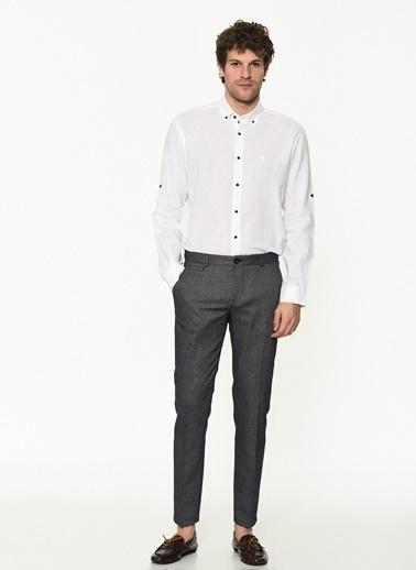 George Hogg Erkek 7004592 Slim Fit Pantolon Lacivert